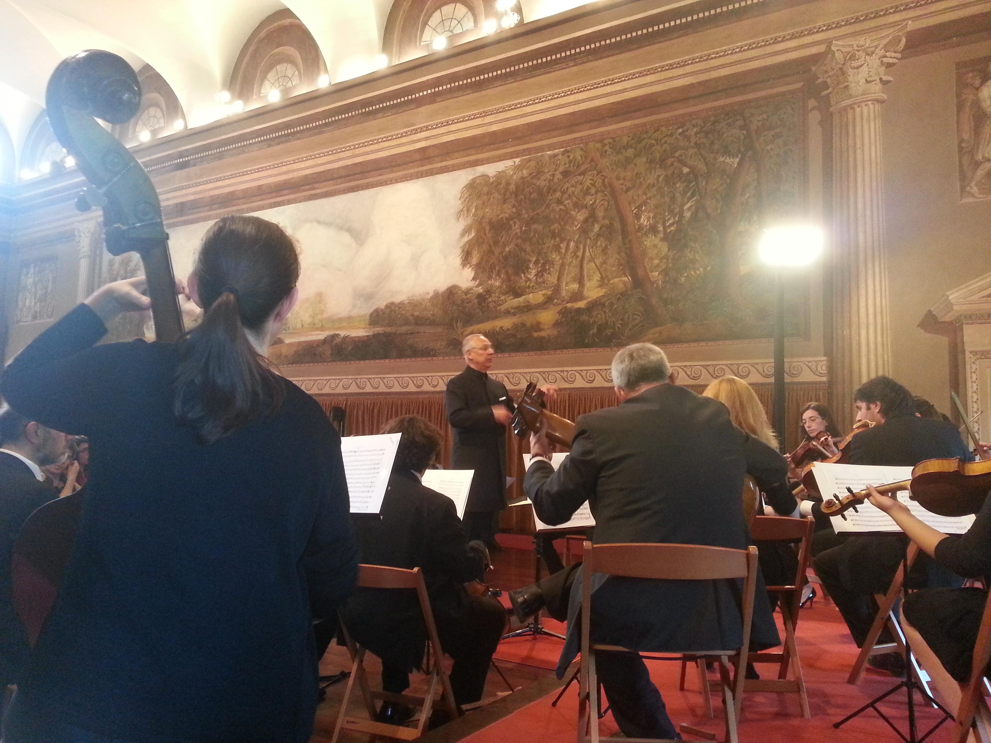 Anno Accademico 2013-2014 Corso in tecnica della direzione d'orchestra