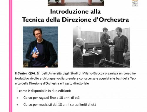 09.10.2013 Introduzione allaTecnica della Direzione d'Orchestra Ennio Nicotra