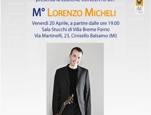 20.04.2010 Lezione Concerto M° Lorenzo Micheli