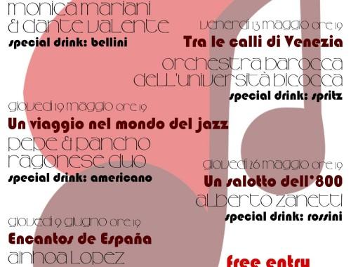 05.05.2013 Gli aperitivi Musicali di Villa Forno