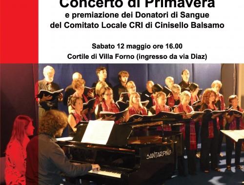 12.05.2013 Concerto di Primavera e premiazione dei Donatori di Sangue