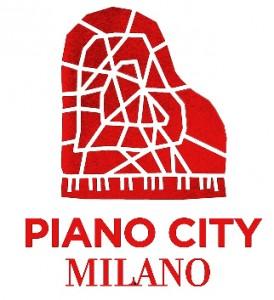 logo piano city bianco