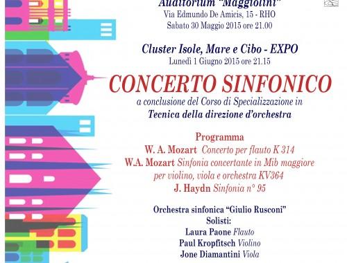 30.05.2015/01.06.2015 Concerto SINFONICO A EXPO