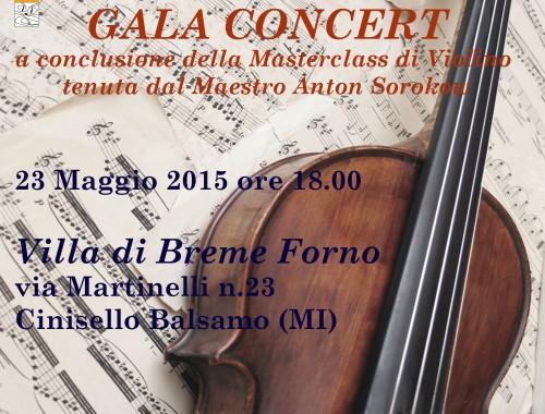 23.05.2015 Masterclass Gala Concert