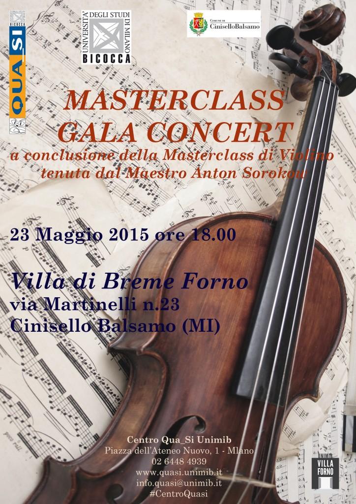 Locandina Masterclass Gala Concert