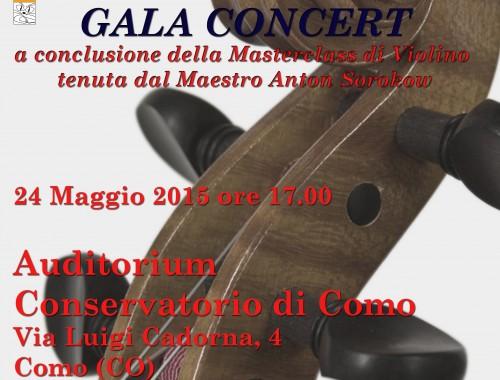 24.05.2015 Masterclass Gala Concert COMO