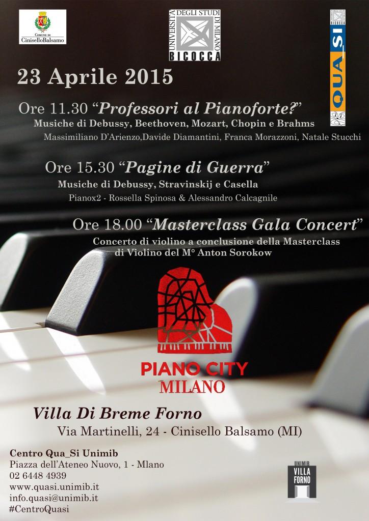 Locandina Piano City