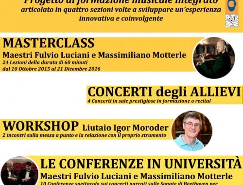 MASTERCLASS Maestro Fulvio Luciani – Beethoven, l'invenzione della Musica