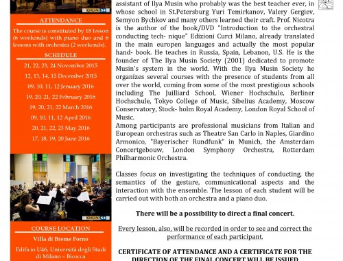 Course In Techniques Of Orchestra Conducting 5th Edition